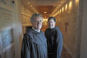 Father Richard McManus and Brother Eric Pilarcik