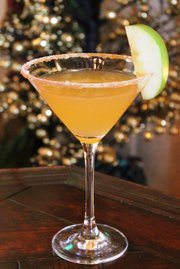 Chris Nordella's Spiced Apple Martini