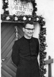 <b>CAREER OF KARL:</b>  After growing up on an Austrian farm, Karl Hutterer entered the Catholic priesthood.