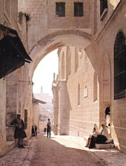Though long associated with the spot where Pilate showed Jesus to the crowd on the day of his crucifixion, this arch in Jerusalem has recently been dated to only the second century.