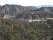 Long view of Gibraltar Dam