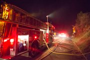 At least seven Santa Barbara City engine crews responded to the fire and were able to knock down the flames quickly.