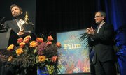 Ben Affleck receives the 2013 SBIFF Modern Master Award presented by Matt Damon (Jan. 25, 2013)