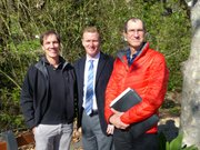 Montecito Trails Foundation new board members: Kyle Slattery, Mike Stein, and James Aviani.