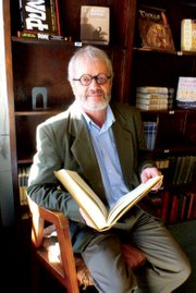 Eric Kelley, owner of The Book Den