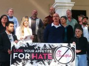 Lose Your Appetite for Hate Coalition press conference