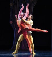 The State Street Ballet joined Nir Kabarettis Santa Barbara Symphony for a new version of Stravinskys Firebird Suite choreographed by William Soleau.