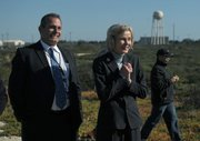Lois Capps at the Landsat 8 satellite launch