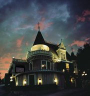 The Magic Castle in Hollywood, home to the Academy of Magical Arts since 1963.