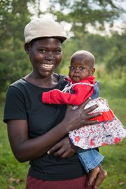 Moms here and everywhere just want their children to be healthy, get an education, and live a good life.