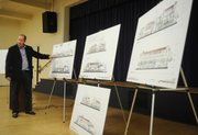 Developer Michael Rosenfeld met with the community on Wednesday to explain his plans for the former Hotel Californian.
