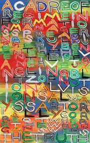 <i>Edging Reason — words</i> at the Carnegie Art Museum.