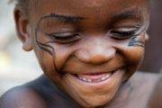Smiling Mbuti Boy