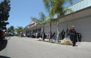 Vons employees were evacuated during the bomb scare incident at the Turnpike Shopping Center