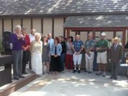 Solvang and Santa Ynez Valley tourism industry leaders gathered to honor economist Dr. Kenneth Harwood.