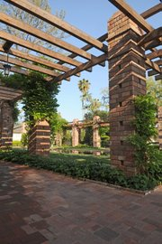 A walk beneath the restored arbor will take you back in time.