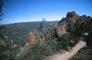 <b>THE TOPS:</b> Pinnacles National Park, located in the Gabilan Mountains in Monterey County, is America's newest national park.