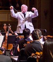 Conductor Leonard Slatkin