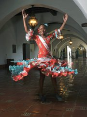 <b>FANCY FEET:</b>  Kailani Cordero dances a fiery flamenco.