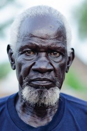 <b>THE ELDER:</b>  Matiok Tong Matiok is just one of the many Sudanese men featured in the new film, <i>LääuNhom: Freedom of the Mind</i>.