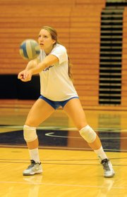 "<b>RAISING THE STAKES:</b> ""We want to get back in the NCAA tournament,"" said senior Leah Sully (pictured), a returning All–Big West hitter. ""We want to go undefeated in the Thunderdome, and we want to win a preseason tournament."""