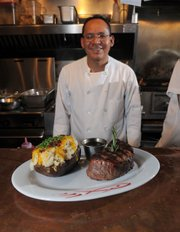 Holdren's Steaks & Seafood's Chef Guillermo Gil.