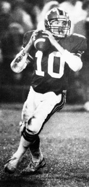 <b>CHAMPION QUARTERBACK:</b>  Coley Candaele led the Carpinteria Warriors to three consecutive CIF championships in the late 1980s.