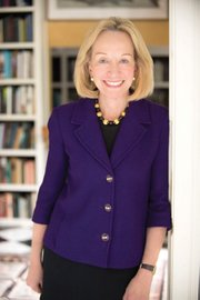 <b>ALL THE PRESIDENTS:</b>  Doris Kearns Goodwin spoke to a sold-out crowd on Monday night.