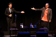 Lyle Lovett and John Hiatt at UCSB's Campbell Hall