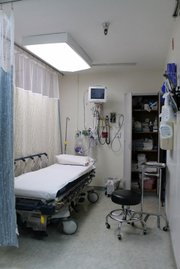 A peek inside the emergency room before patients start rolling in
