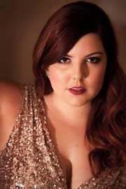 <b>SING IT:</b> Macklemore collaborator Mary Lambert performs at UCSB on January 9.