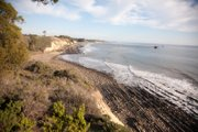 View from the Paradiso bluffs near where the coastal trail easement will be located.