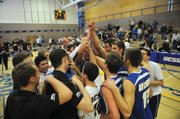 <b>HOMEBOY HUDDLE:</b> The Gauchos took third place in the UCSB Asics Invitational.