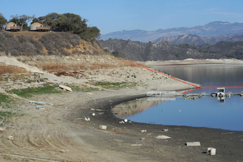 In time of drought state water in serious doubt for Cachuma lake fishing