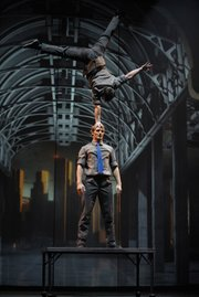 <b>HEADS ABOVE THE REST:</b> Cirkopolis sets stunning physical feats against an urban backdrop.