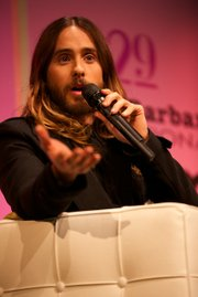 Jared Leto responding to an audience member who criticized his portrayal of a transgender character in Dallas Buyers Club