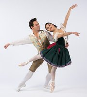 <b>High-Ho:</b>  Ryan Camou dances the roll of the Prince, and Lilit Hogtanian portrays Snow White in State Street Ballet's take on the fairy tale.