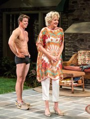 David Hull and Christine Ebersole in the Mark Taper Forum production of Vanya and Sonia and Masha and Spike.