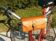 Barbara Morra makes beautiful hand-sewn bicycle bags.