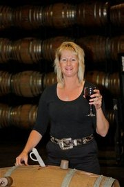 <b>CHEERS TO VINTNERS WEEKEND:</b> Robin Bogue's William James Cellars is sponsoring the April 10 gold tourney at Sandpiper, which kicks off the S.B. Vintners Spring Weekend.
