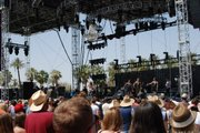 NO DESTRUCTION: Foxygen's early afternoon set atop the Outdoor Stage.