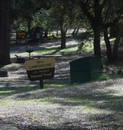 Nira campground sign