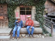 Luis Goena and cousin Oscar Loretto at Cold Spring Tavern this past year