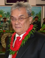 Tony de Brum, Marshall Islands Foreign Minister