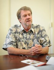 <b>KEEPS ON TRUCKIN': </b> Executive Director Andy Harper has kept the Center for Lifelong Learning afloat despite a difficult transition to fee-based classes.