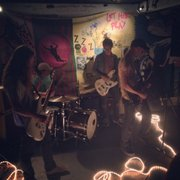 SOUND OFF: Detroit noise rock band Tyvek plugged in for a small and somber show in Isla Vista this past Saturday night.