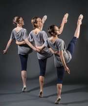 AD&M dancers (from left) Sally Schuiling, Jessica Feltman, and Nikki Pfeiffer