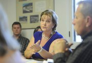 """The board has denied requests from residents, businesses, and agriculturists for changes in allocations, says President Darlene Bierig, adding, """"The pain is being shared in all sectors."""""""