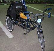 Don Riders bike at the Christmas Parade 2012
