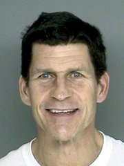 <b>WHY IS THIS MAN SMILING?</b>  Prosecutors said David Prenatt charmed and then scammed a number of well-heeled area residents.